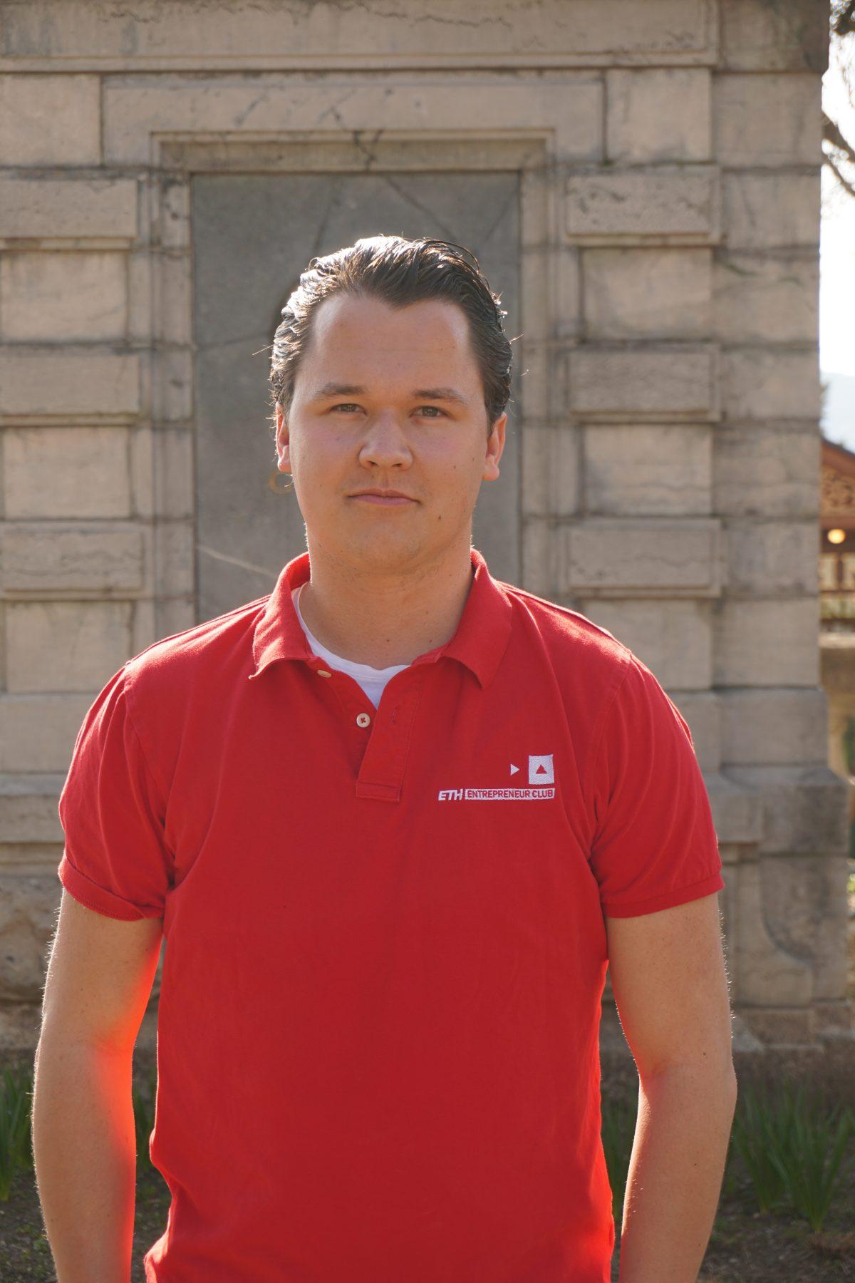 Linus Joos, President ETH Entrepreneur Club   ETH Centre for Students & Entrepreneurs