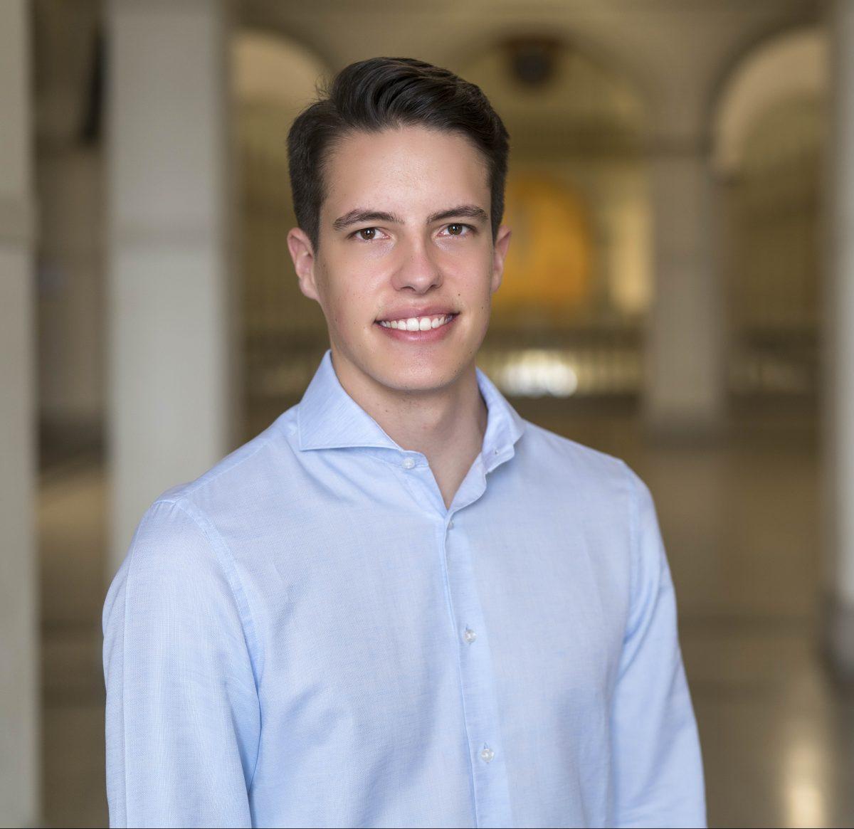 Marcel Eckard, President ETH juniors   ETH Centre for Students & Entrepreneurs